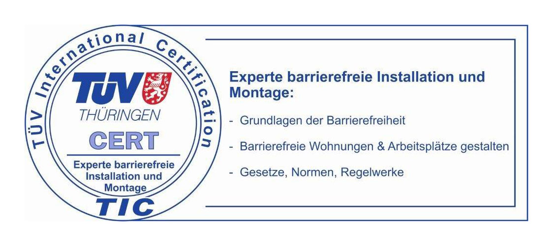 Experte barrierefreie Installation